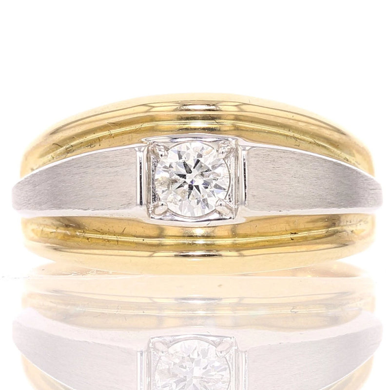 Guy's Diamond Solitaire Ring