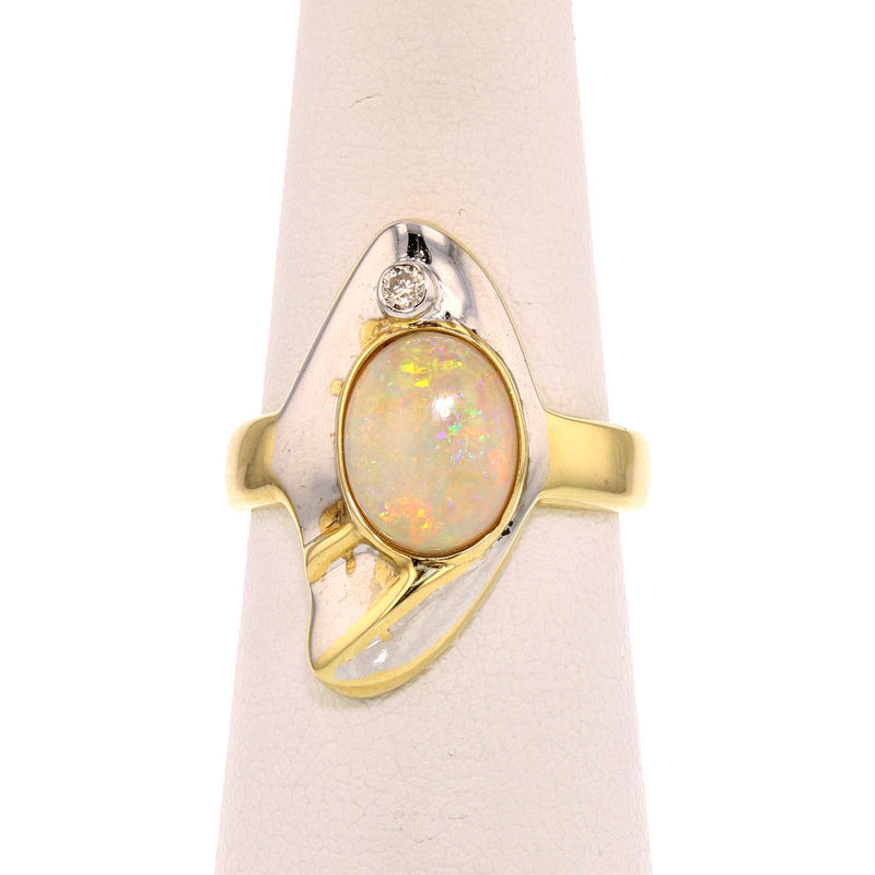 Crystal Opal Ring - David's Antiques & Jewelry