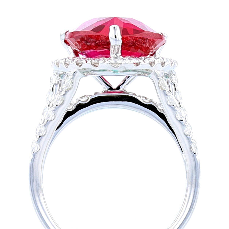 Trillion Ruby Ring