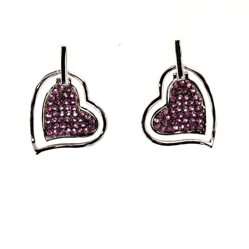 Floating Hearts Earrings