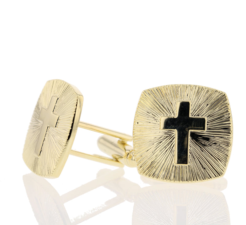 Cross Cufflinks - David's Antiques & Jewelry