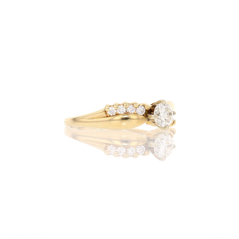 Crossover Diamond Ring - David's Antiques & Jewelry