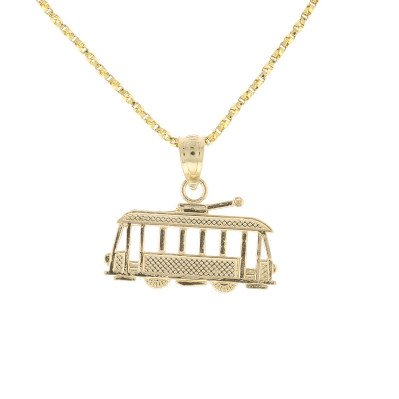 2D StreetCar Pendant - David's Antiques & Jewelry
