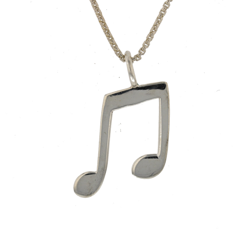 Large Music Note Pendant