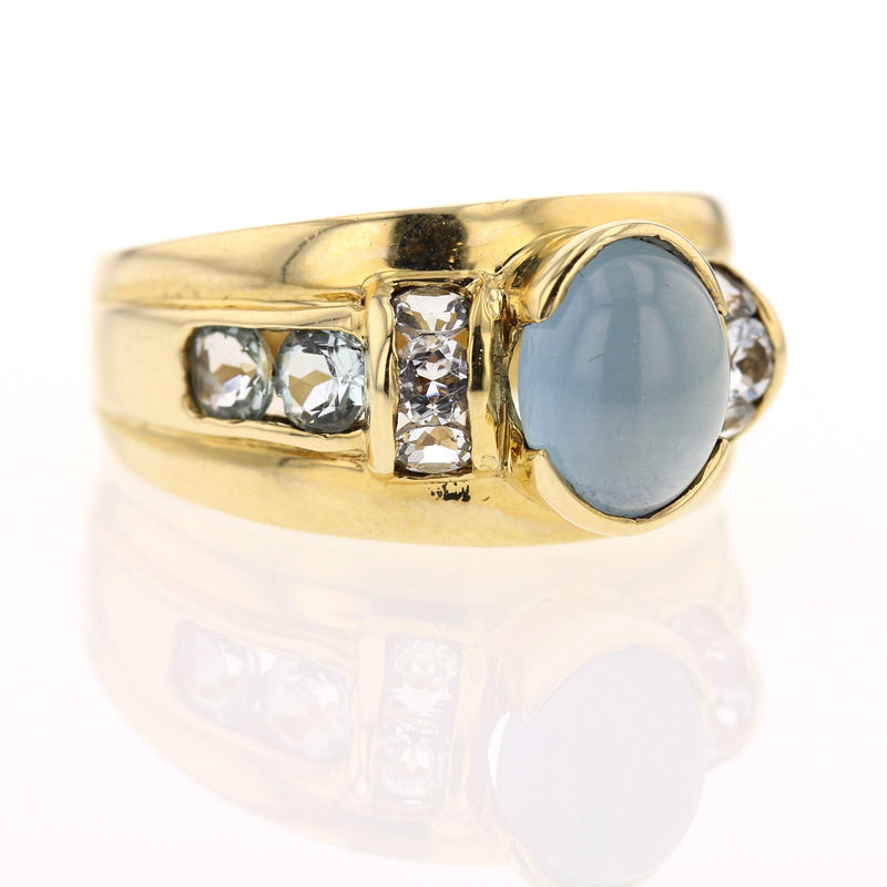 Aquamarine Ring - David's Antiques & Jewelry