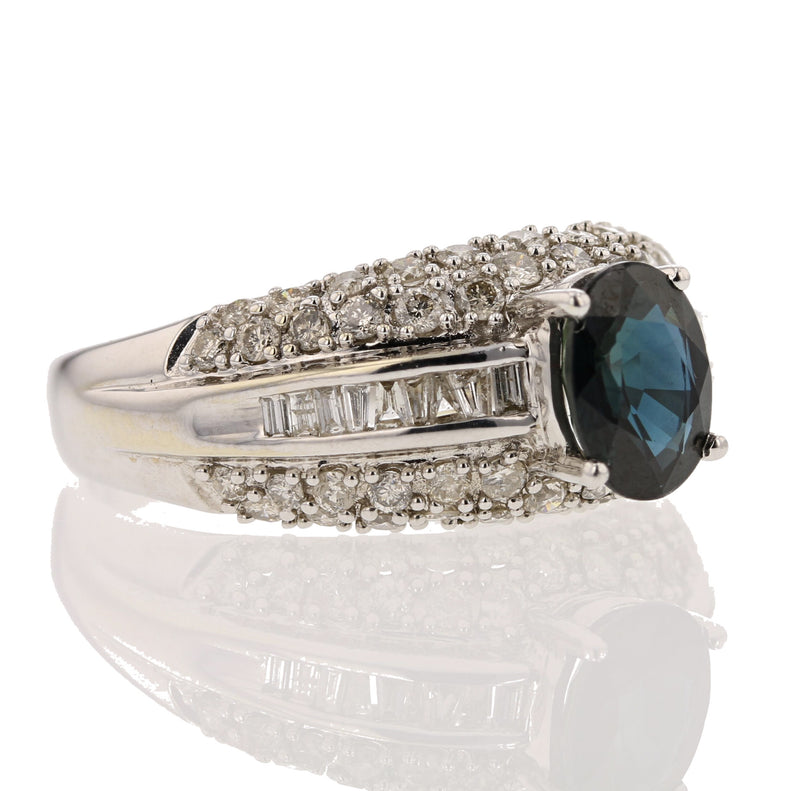 Classic Sapphire Ring - David's Antiques & Jewelry