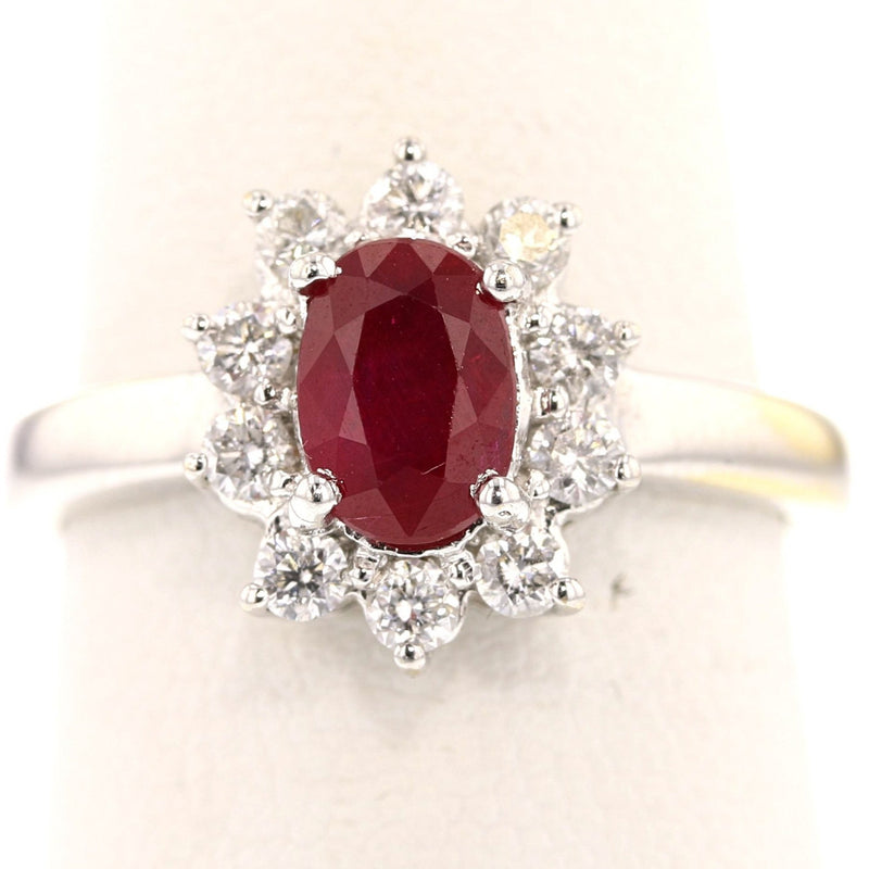 Classic Ruby Ring - David's Antiques & Jewelry