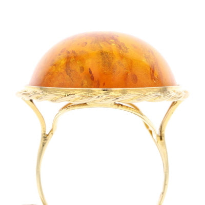 Baltic Amber Ring - David's Antiques & Jewelry