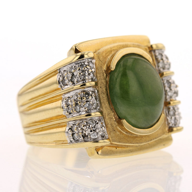 Men's Jade Ring