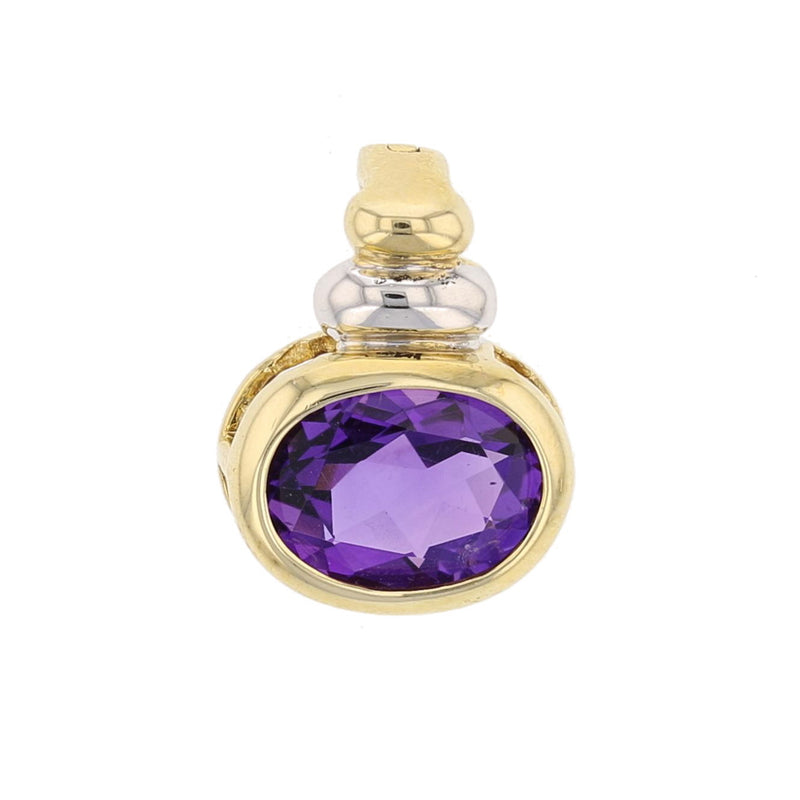 Amethyst Pendant - David's Antiques & Jewelry
