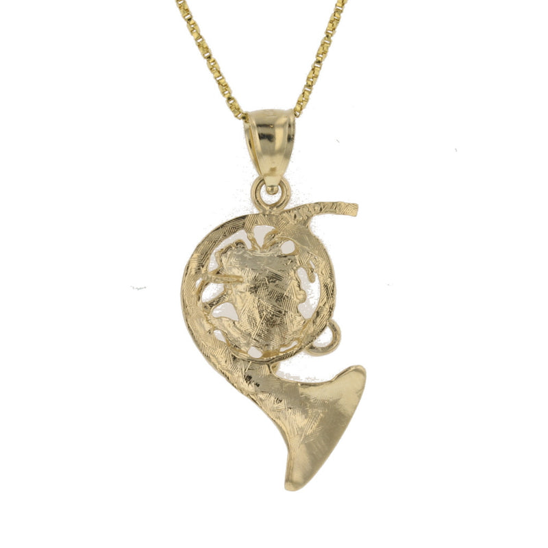 French Horn Pendant