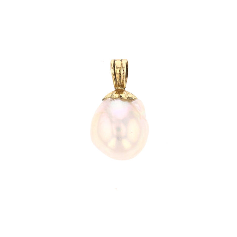 Akoya Pearl Pendant - David's Antiques & Jewelry