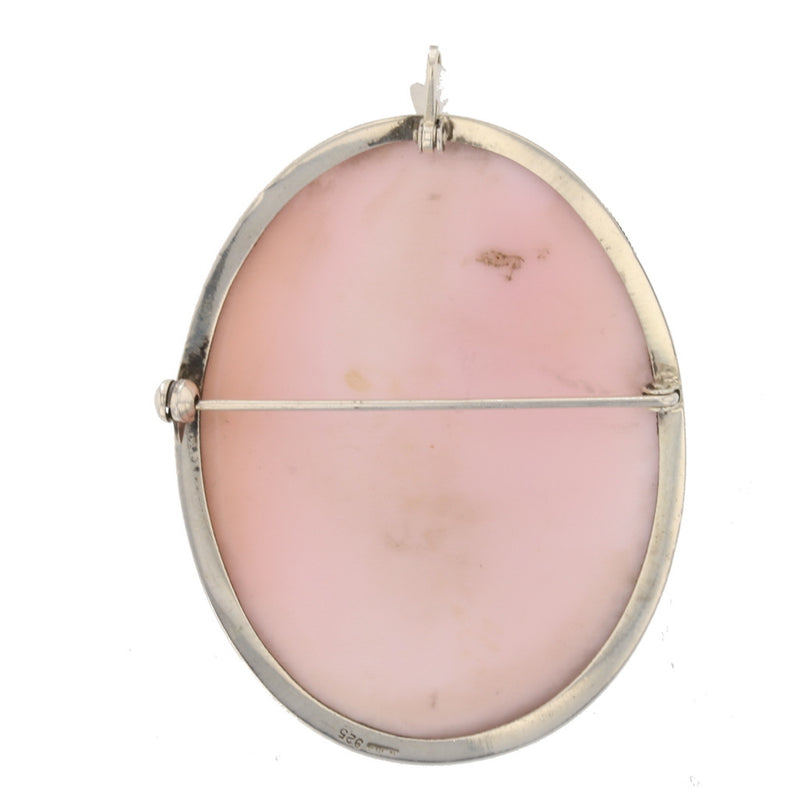 Pink Conch Shell Cameo
