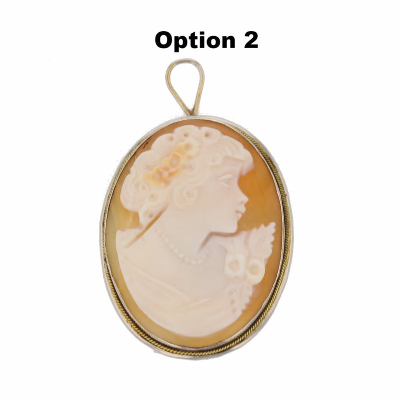 Sterling Silver 1920's Cameo