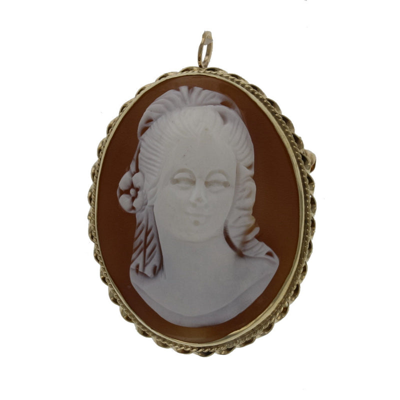 Victorian High Relief Cameo