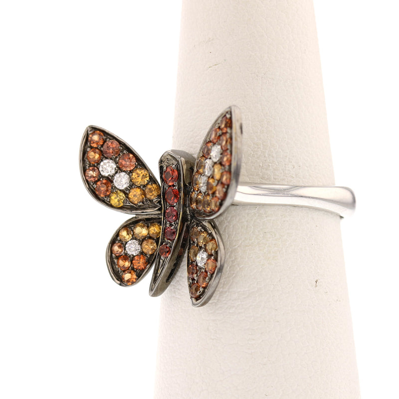 Contemporary Butterfly Ring - David's Antiques & Jewelry
