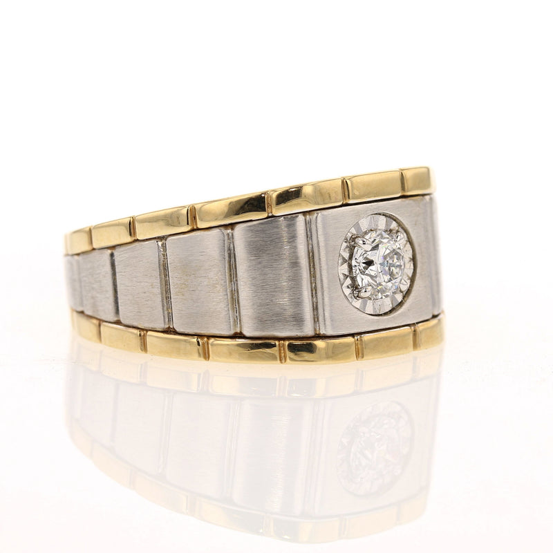 Men's Diamond Soliter Ring
