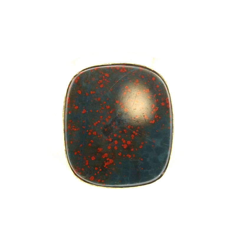 Bloodstone Man's Ring - David's Antiques & Jewelry