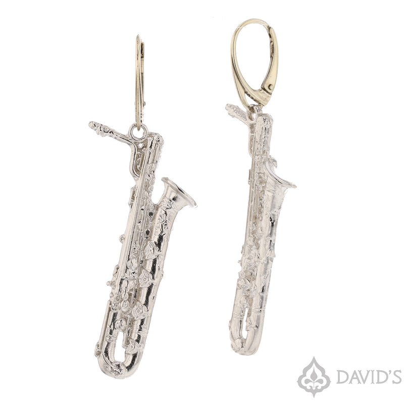 XL Saxophone Earrings