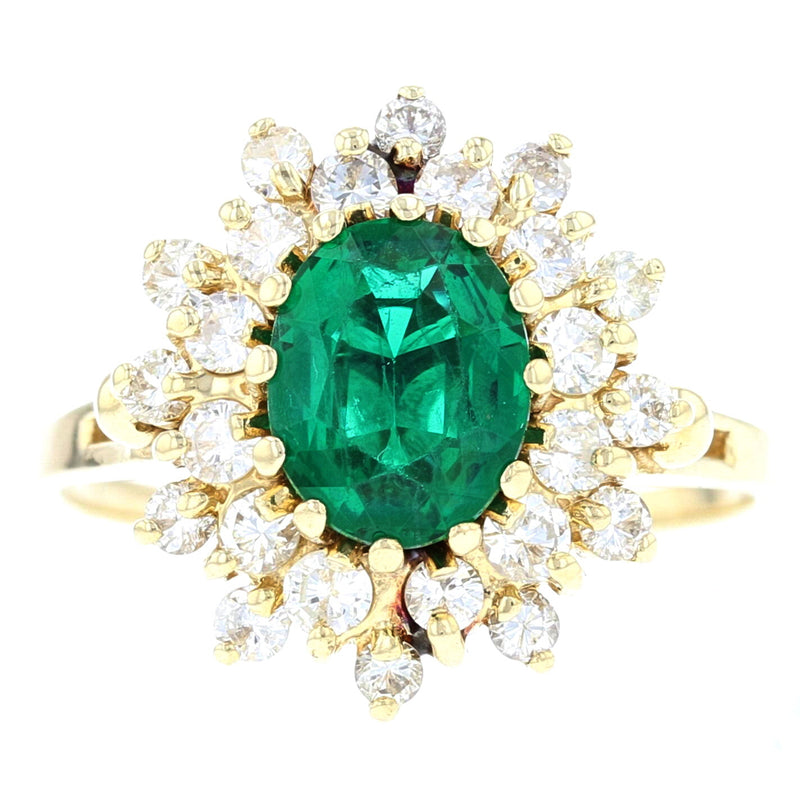 1950's  Emerald Ring