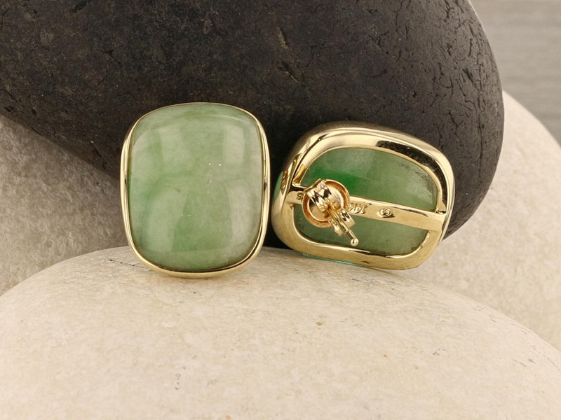 Jadeite Jade Earrings