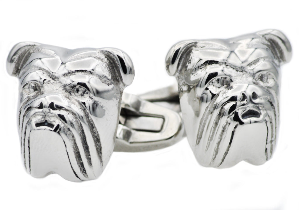 Bull Dog Cuff Links