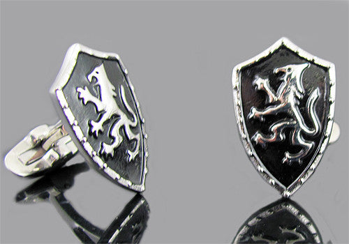 Dragon Shield Cuff Links