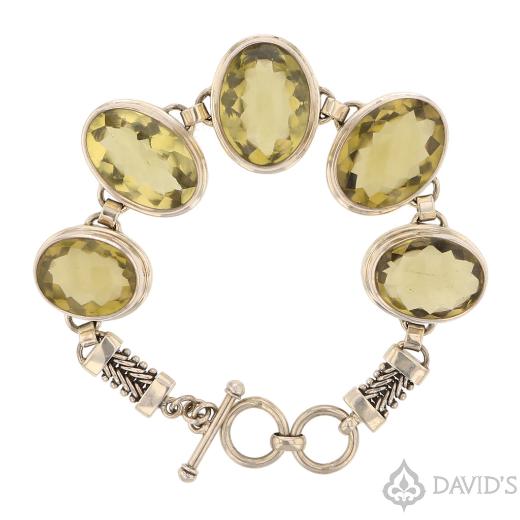 Lemon Citrine Bracelet