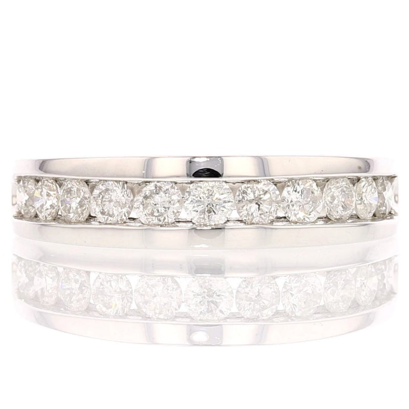 Masculine Diamond Band