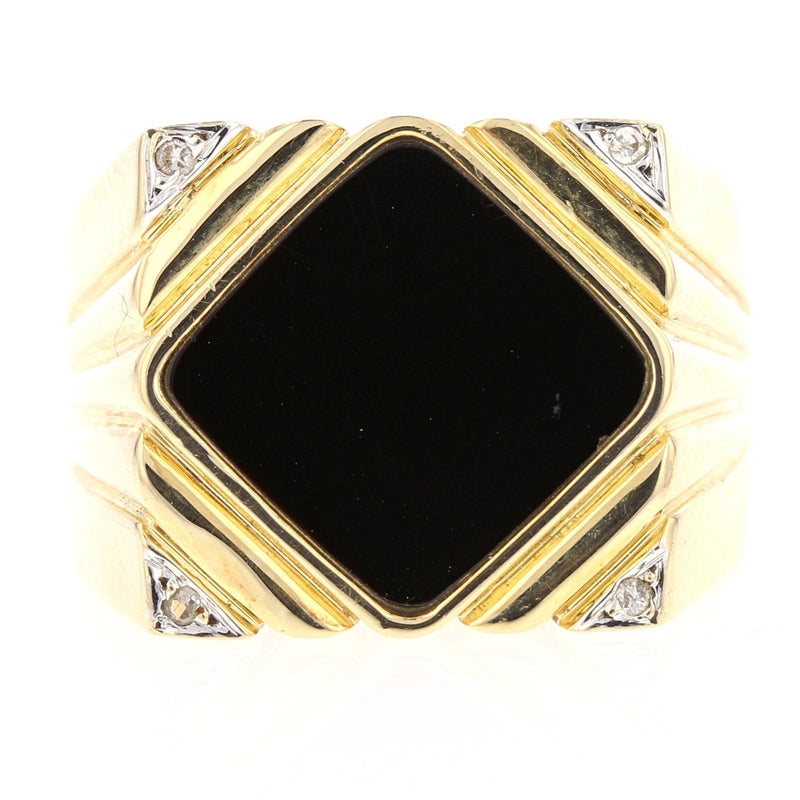 'Black & Gold' Ring - David's Antiques & Jewelry