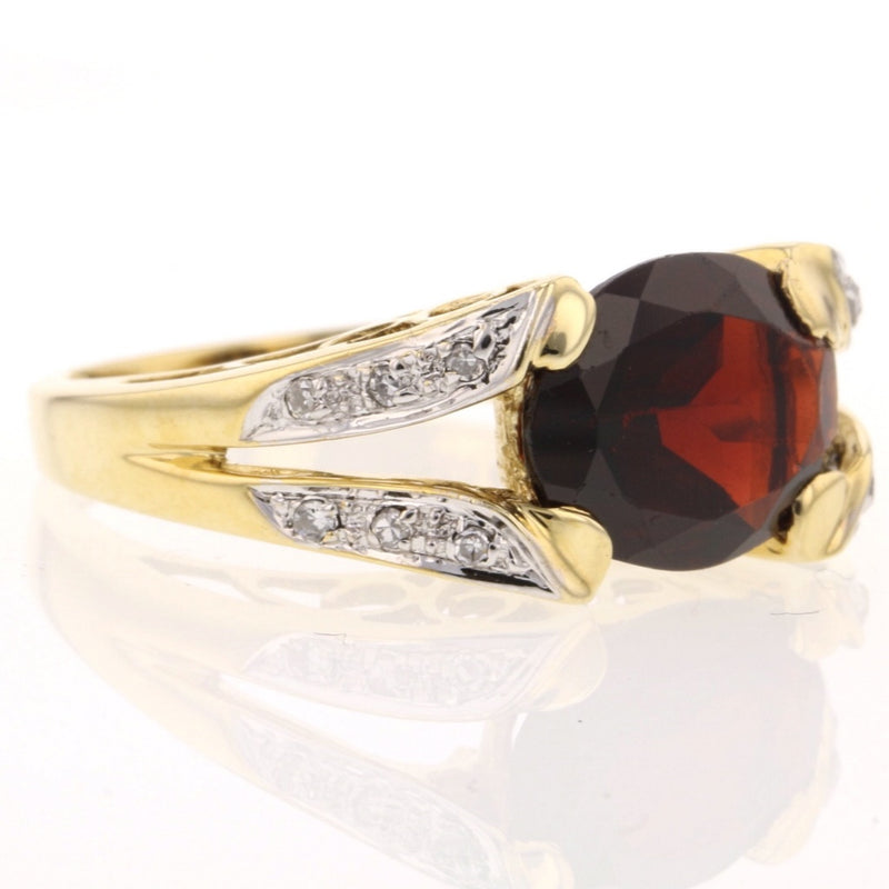 Garnet Ring East West