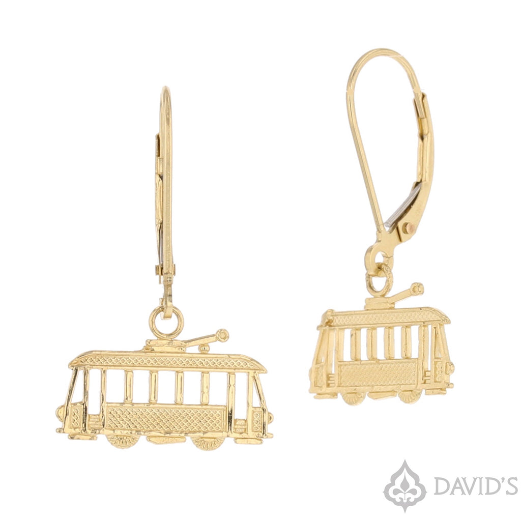 2D Streetcar Earrings