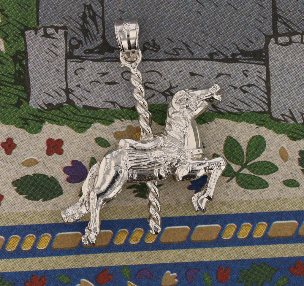 Large 3D Carousel Horse