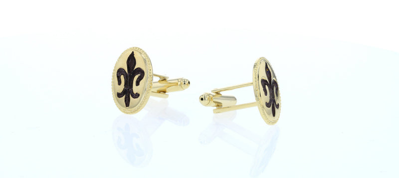 FDL Oval Cufflinks