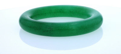 Type C Imperial Green jadite Jade Bangle 60mm Openning 13mm Wide