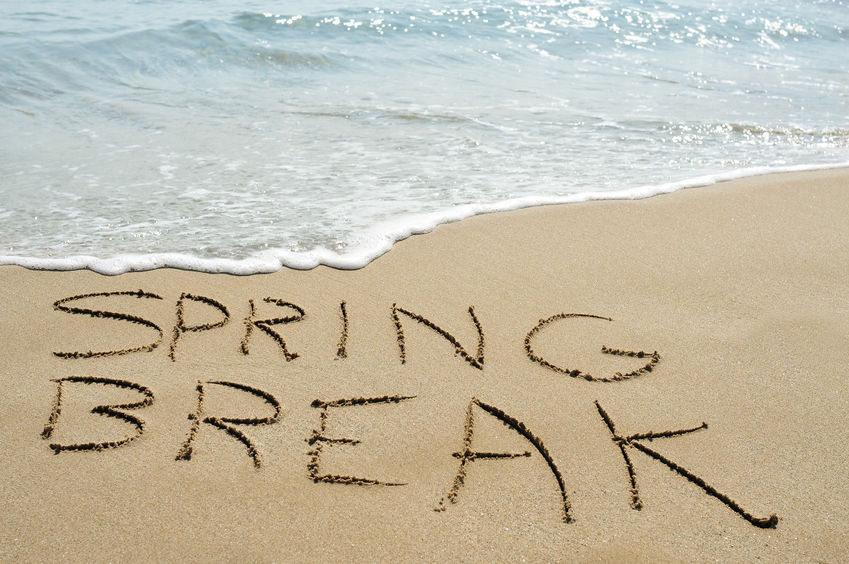 Top 4 Spring Break Tips
