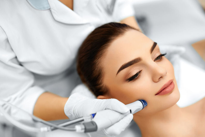Hydrafacial, Silk Peel, and Microdermabrasion...What's the Difference?