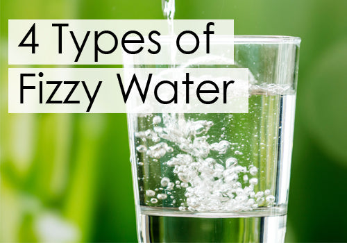 4 types of fizzy water