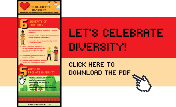 Diversity PDF infographic preview image
