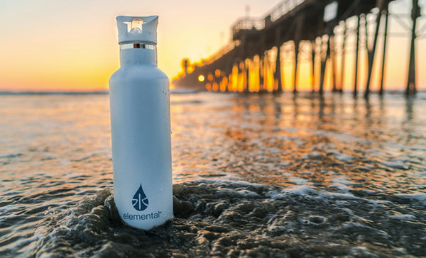 an eco-friendly water bottle