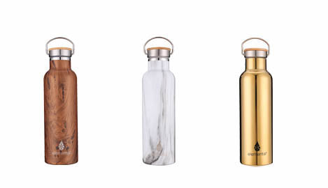new stainless steel Elemental bottles to help you stay hydrated