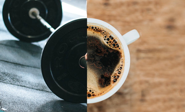 Benefits of drinking coffee before working out