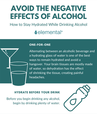 Two ways to avoid the negative effects of alcohol