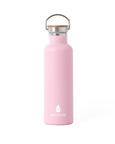 Breast Cancer Awareness Elemental Stainless Steel Water Bottle - 25oz - Elemental Gifts