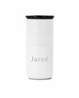 Engraved Simple Font - 16 oz Tumbler Custom Name - Elemental Gifts