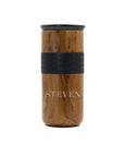 Engraved Modern Font - 16 oz Tumbler Custom Name - Elemental Gifts