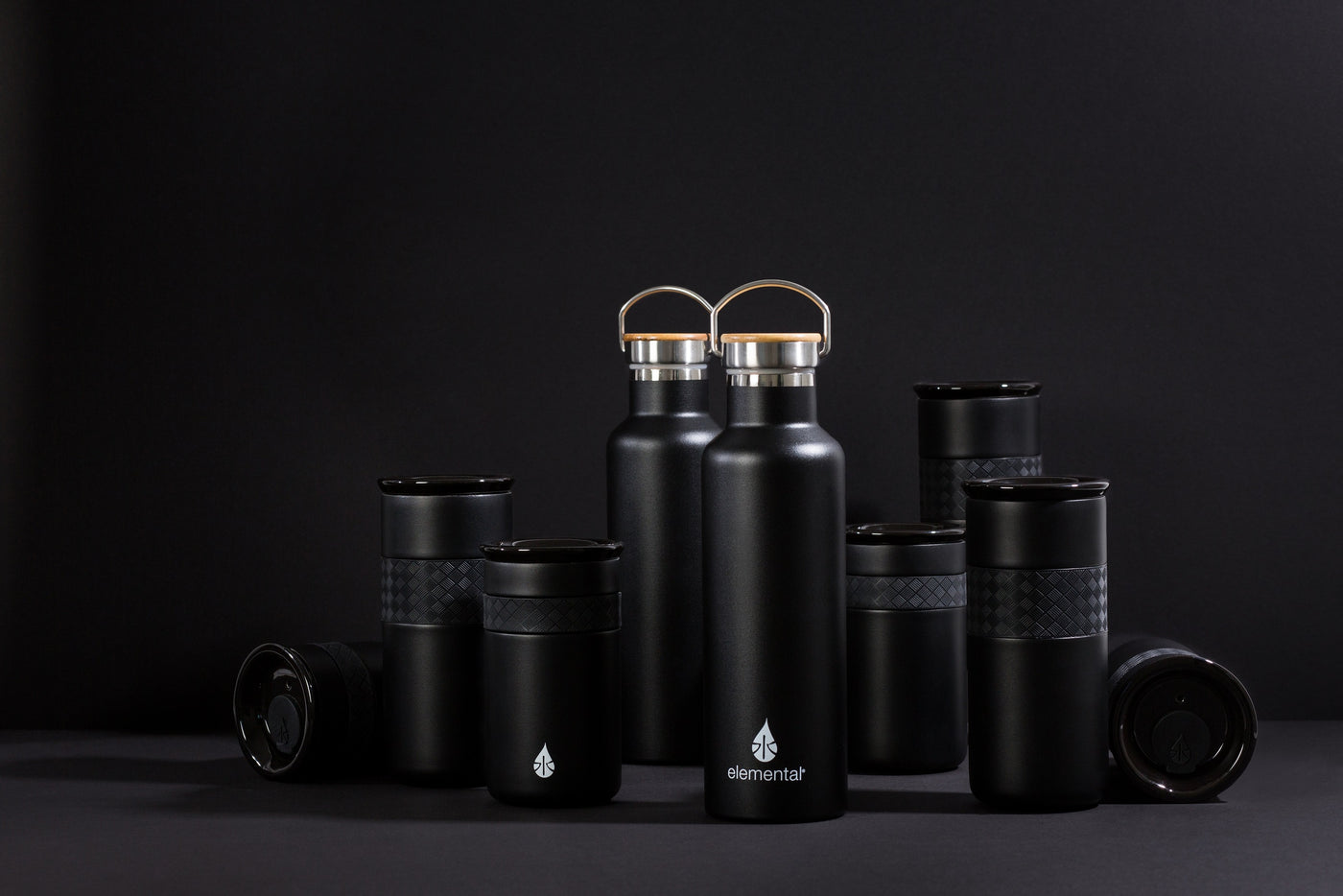 ASI Sample Pack - Exclusive Classic Elemental Bottle and Tumblers (3 items) - Elemental Gifts