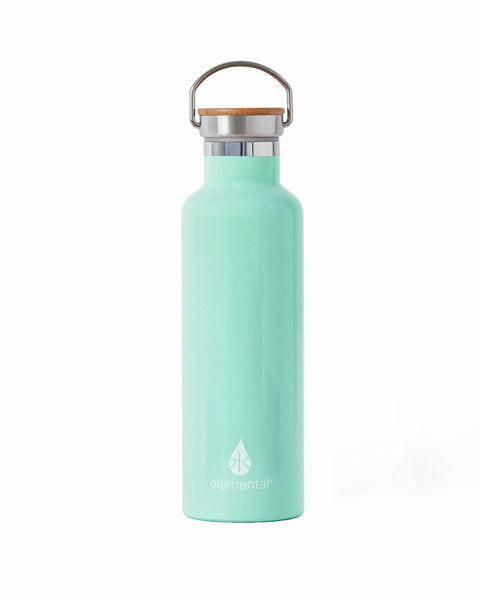 Elemental Stainless Steel Classic Water Bottle - 25oz Gloss Mint