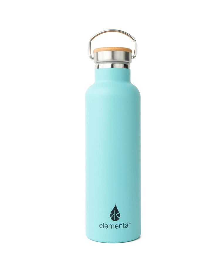 Elemental Stainless Steel Classic Water Bottle - 25oz Gloss Robin's Egg Blue