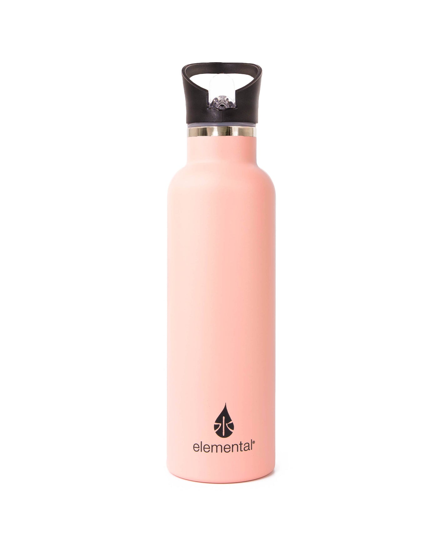 Elemental Stainless Steel Sport Water Bottle - 25oz Rose